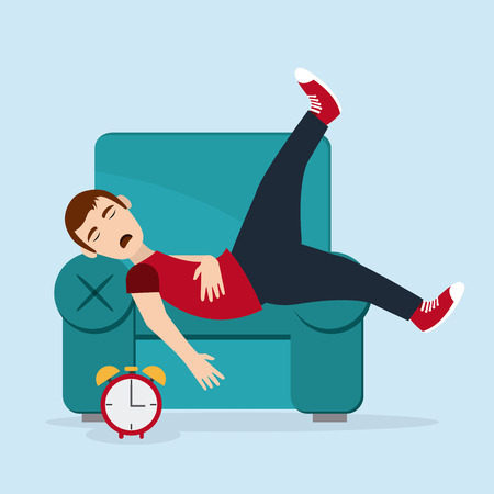 rest: Rest concept with tired icon design, vector illustration 10 eps graphic.