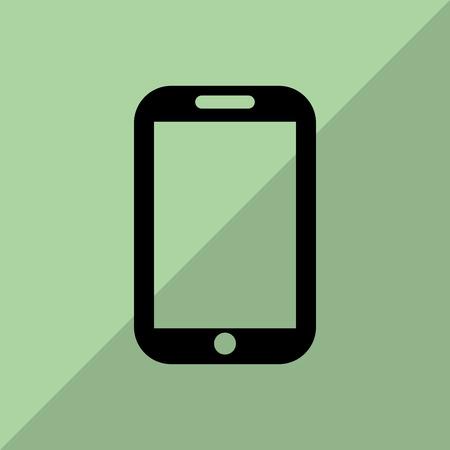 smartphone icon: smartphone concept with icon design