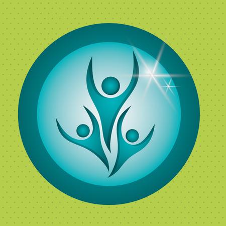peace concept: peace concept with icon design,