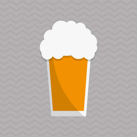 beer  concept with icon design