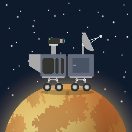 environment geography: space concept with icon design, vector illustration 10 eps graphic.