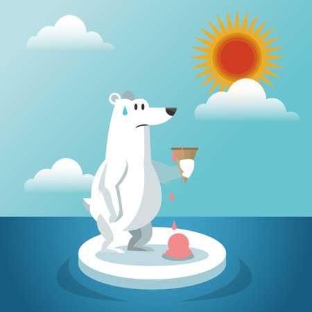 global warming: Global warming concept with icon design, vector illustration 10 eps graphic. Illustration