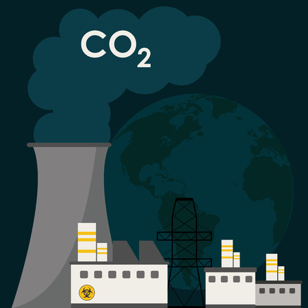 global warming: Global warming concept with icon design