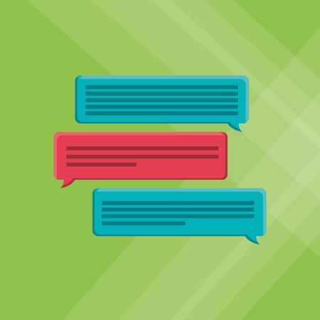 communication concept: communication concept with icon design