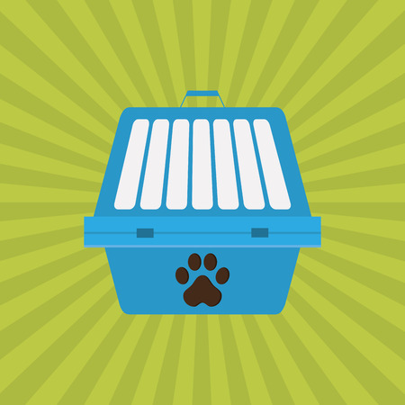 trusting: Animal shop concept with icon design, vector illustration 10 eps graphic.