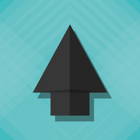 pointed arrows: technology concept with icon design, vector illustration 10 eps graphic.