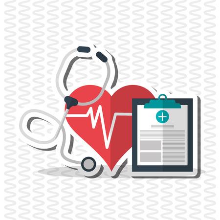 el concepto del cuidado médico con el diseño de iconos, ilustración vectorial eps 10 gráfico.