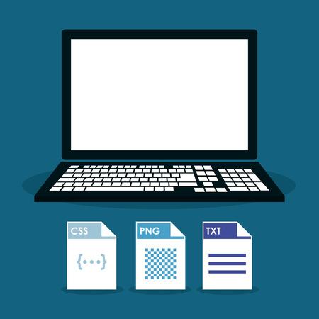 hoja de calculo: Spreadsheet concept with icon design, vector illustration 10 eps graphic. Vectores