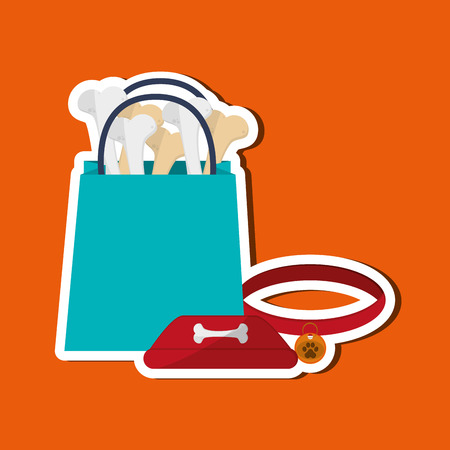 best protection: Animal shop concept with icon design, vector illustration 10 eps graphic.