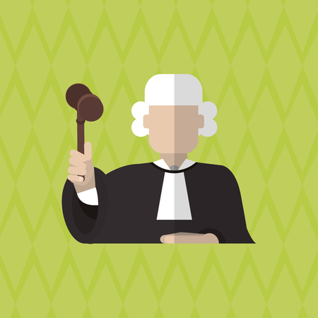 arts system: Law and Justice concept with icon design, vector illustration 10 eps graphic Illustration
