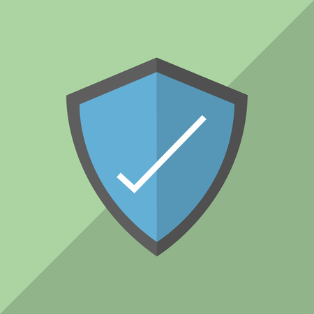 fatal error: Cyber Security Antivirus concept with icon design, vector illustration 10 eps graphic.