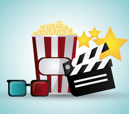 movie theater: Cinema concept with icon design, vector illustration 10 eps graphic