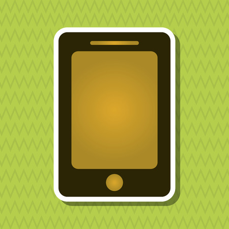 smartphone icon: Smartphone concept with icon design, vector illustration Illustration