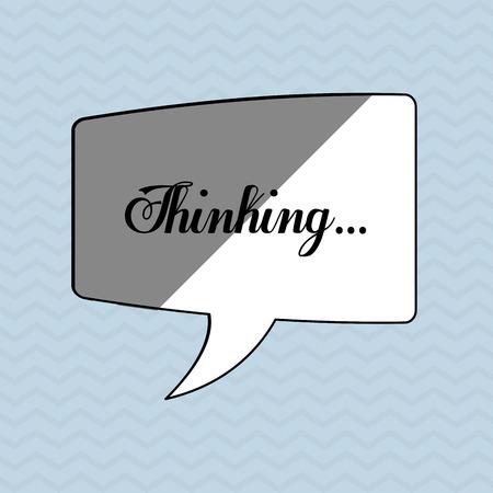 communication concept: Communication concept with bubble icon design, vector illustration