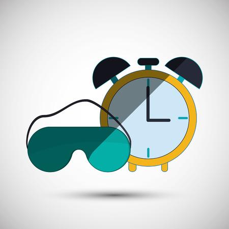 アイコンのデザイン、ベクトル図 10 eps グラフィックで休息と睡眠の概念