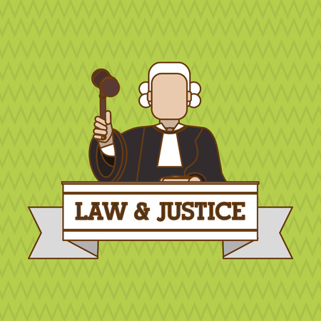 courthouse: Law and Justice concept with icon design, vector illustration 10 eps graphic.