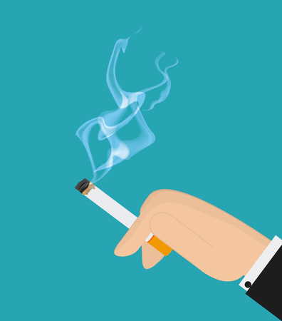 vaporizer: Cigarette concept with icon design, vector illustration 10 eps graphic.