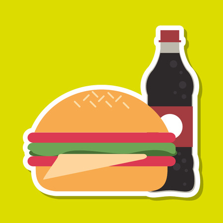 consume: Food concept with icon design, vector illustration 10 eps graphic.