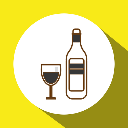 consume: drink concept with icon design, vector illustration 10 eps graphic.