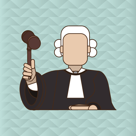 civil rights: Law and Justice concept with icon design, vector illustration 10 eps graphic.