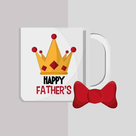 macho: fathers day concept with icon design, vector illustration 10 eps graphic.