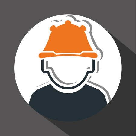 detection: Industry security  concept with icon design, vector illustration 10 eps graphic.