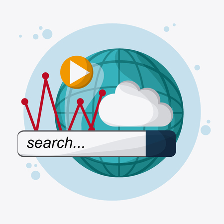 page rank: seo concept with icon design, vector illustration 10 eps graphic.
