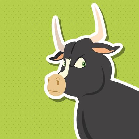 zoo animal: Animal concept with cartoon design, vector illustration 10 eps graphic.