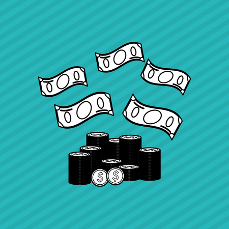 eps 10: Profit concept with icon design, vector illustration 10 eps graphic.