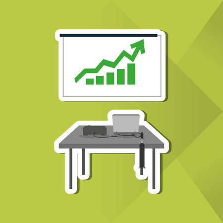 buisiness: businessconcept with icon design, vector illustration 10 eps graphic.