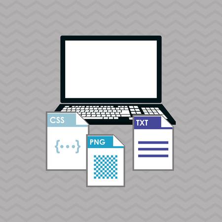 interface scheme: responsive web design concept with icon design, vector illustration 10 eps graphic. Illustration