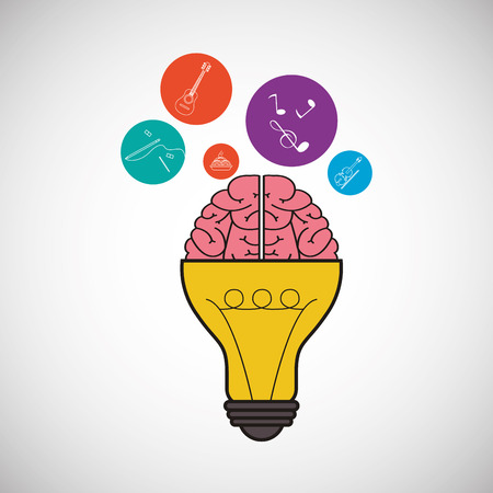 different concept: Think different  concept with icon design, vector illustration 10 eps graphic.