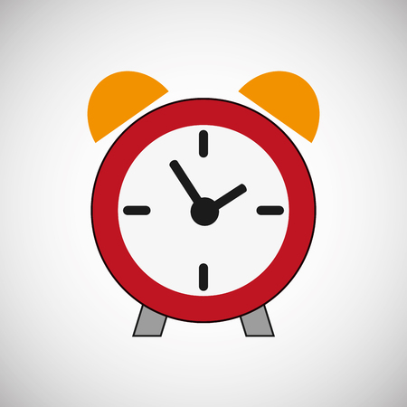 ticking: Clock concept with icon design, vector illustration 10 eps graphic.