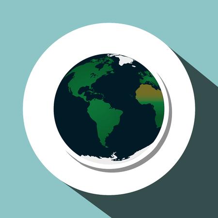 hazardous waste: Pollution concept with icon design, vector illustration 10 eps graphic.