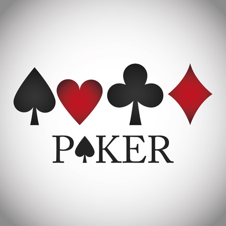 jack of diamonds: Poker concept with icon design, vector illustration 10 eps graphic. Illustration