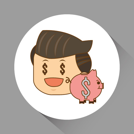 businesspeople: Businesspeople concept with icon design, vector illustration 10 eps graphic. Illustration