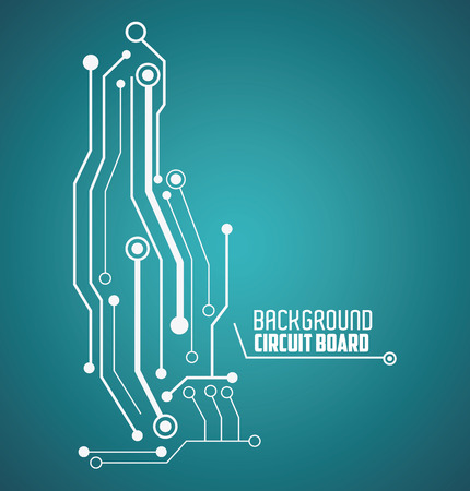 Circuit Board Concept With Icon Design, Vector Illustration 10 ...