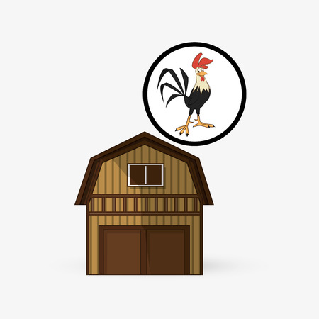 cultivating: Farm concept with icon design, vector illustration 10 eps graphic.