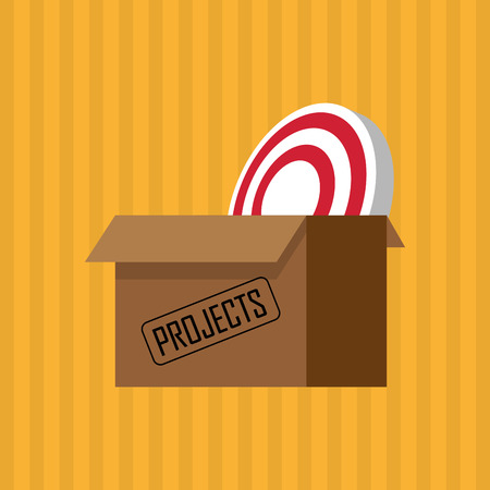answers: Project conctept with icon design, vector illustration 10 eps graphic.