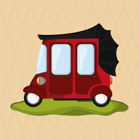 highway 3: Transportation concept with icon design, vector illustration 10 eps graphic.