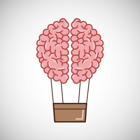 creative mind: Creative mind concept with icon design, vector illustration 10 eps graphic. Illustration