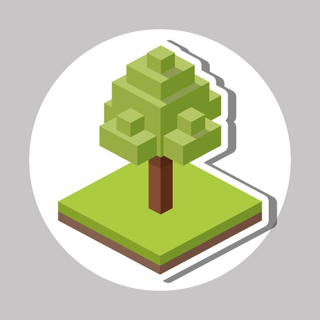 millimeter: Isometric concept with icon design, vector illustration 10 eps graphic.