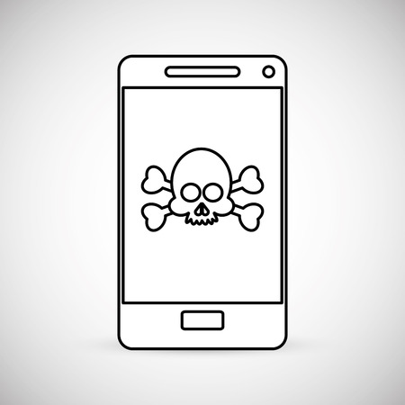 antivirus: Cyber Security Antivirus concept with icon design, vector illustration 10 eps graphic.