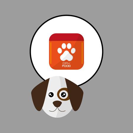 botton: Animal concept with icon design, vector illustration 10 eps graphic.