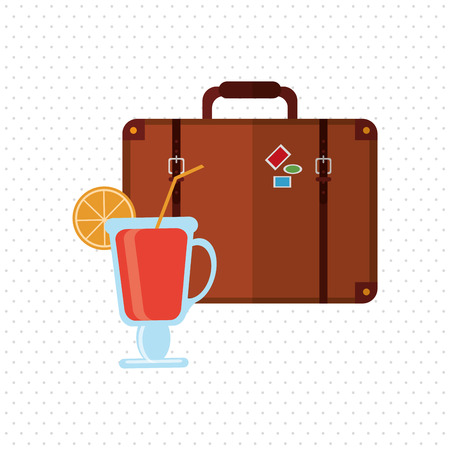 enjoyment: Travel concept with icon design, vector illustration 10 eps graphic.