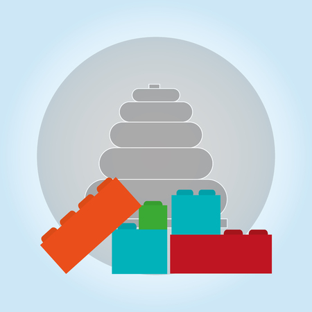 Toy concept with icon design, vector illustration 10 eps graphic.