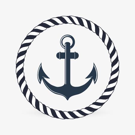 Sea lifestyle concept met pictogram ontwerp, vector illustratie 10 eps grafische.