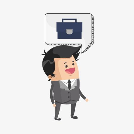 desig: Business concept with icon desig Illustration