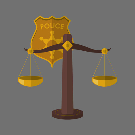 egal: Law concept with icon design, vector illustration 10 eps graphic.
