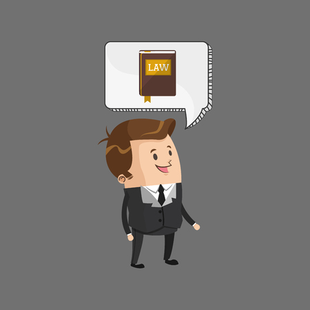 civil rights: Law concept with icon design, vector illustration 10 eps graphic.